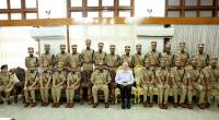 22 IPS Probationers of 2018 called on the Governor Justic P. Sathasivam as part of their study cum cultural tour.   Attachments area