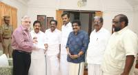 - A  UDF delegation led by Leader of Opposition Ramesh Chennitha ,  KPCC chief  V M Sudheeran submitting a memorandum on 28 Nov  Kerala Raj Bhavan