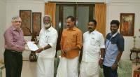 Shri.  Kummanam Rajasekharan submitting a plea against co-op staff unions' blockade of  RBI.