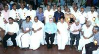 With media persons of  Ernakulam, Prof. K. V. Thomas MP and Hibi Eden MLA are also seen.