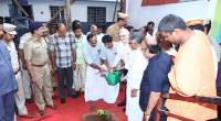 At Vivekodayam School, Thrissur on its centenary