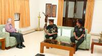 Visit of Lt. General R K Anand, SM VSM, General Officer  Commanding, Dakshin Bharath Area