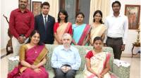 The seven IAS (2017 batch)officers allotted to Kerala called on the Governor at Kerala Raj Bhavan