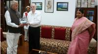 Thiru Banwarilal Purohit, Hon'ble Governor of Tamil Nadu visits Kerala Raj Bhavan -12th March.