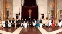 Governor Shri Arif Mohammed Khan at the 50th Governors' Conference at Rashtrapati Bhavan, New Delhi.