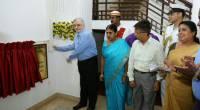 Governor inaugurates the renovated auditorium at Kerala Raj bhavan