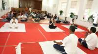 International Yoga Day 2017 at Kerala Raj Bhavan